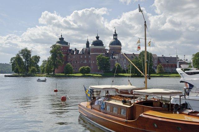 Gripsholms slott. Fotografi: Gomer Swahn.